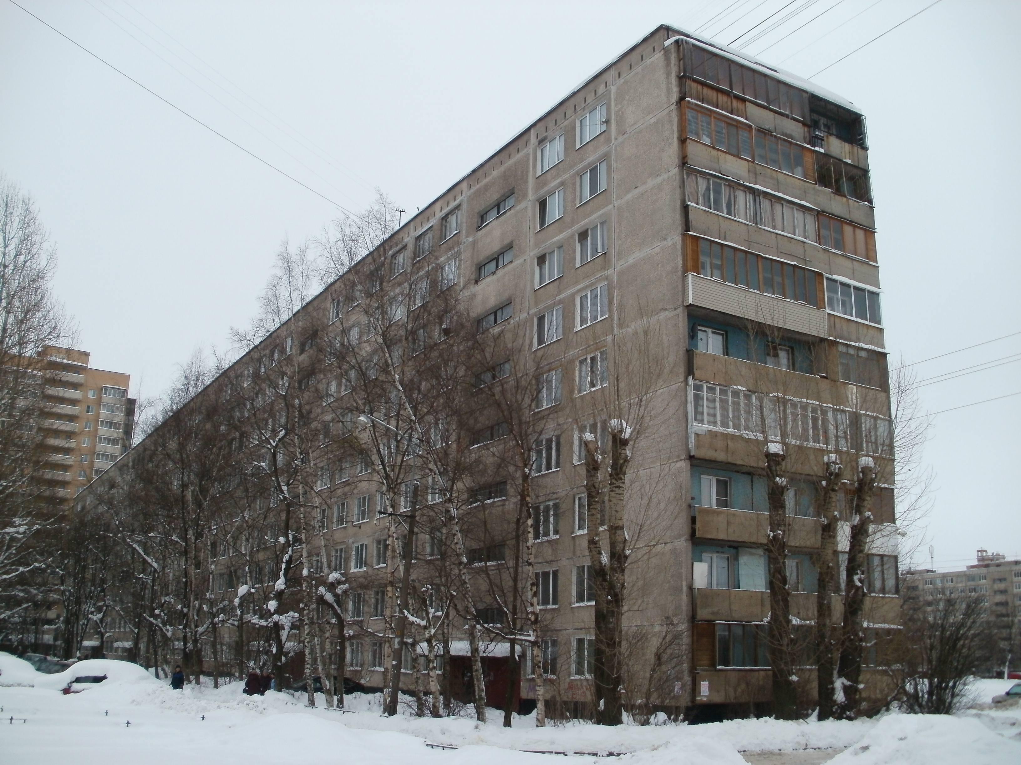 Фото 9 этажного дома