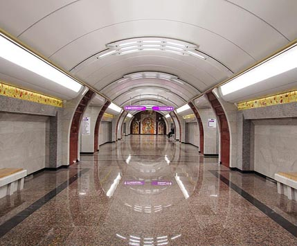 Bucharestskaya subway station