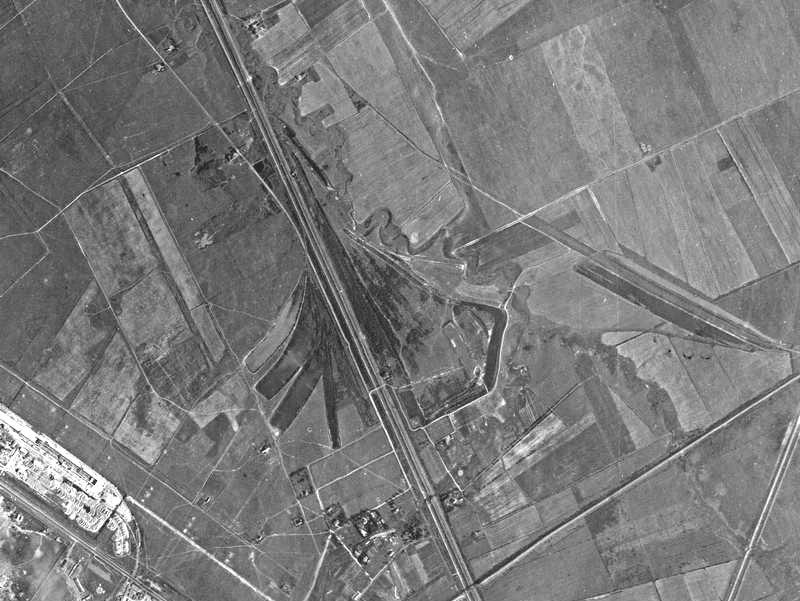 Аэроснимок 1939 года